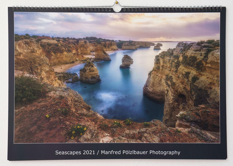 Kalender Manfred Pölzlbauer Seascapes 2021